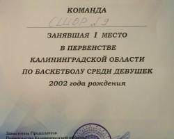 диплом девушки 2002
